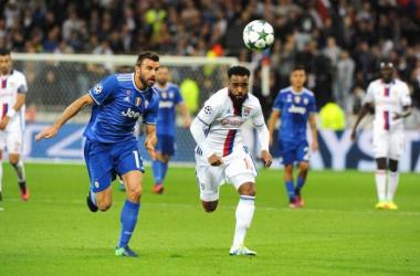 Juventus - Lione terminata in Champions League 2016/17 (1-1): Tolisso risponde ad Higuain