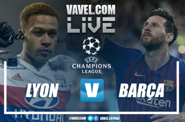 Resumen Olympique de Lyon vs Barcelona (0-0)