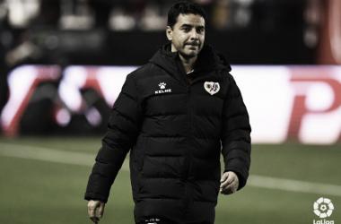 Míchel en el encuentro ante el Leganés   Fotografía: La Liga