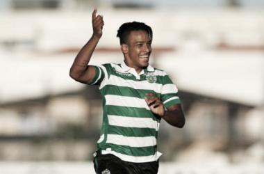 Matheus Pereira bisou no derby (Foto: ojogo.pt)