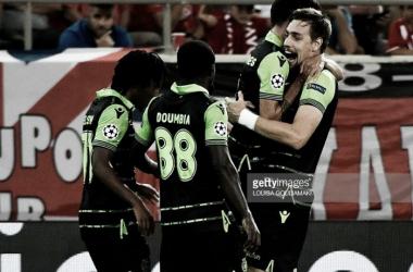 Sporting entra a vencer na Champions.