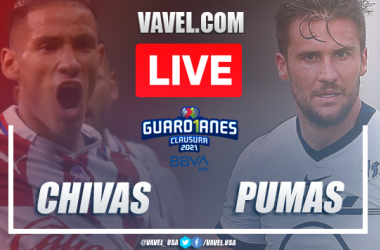 Goals and Highlights Chivas 2-1 Pumas, 2021 Liga MX