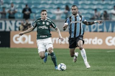Em situação conturbada, Grêmio encara Palmeiras na Arena