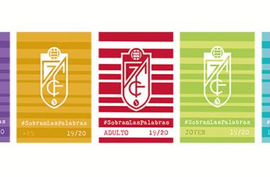 Diseño de los abonos del Granada CF