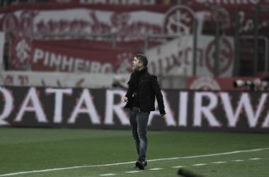 Coudet lamenta jejum e chances perdidas após derrota do Inter no Gre-Nal