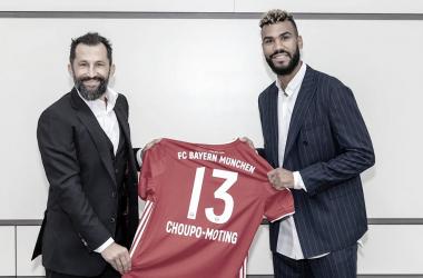 Bayern de Munique anuncia contratação do atacante Choupo-Mouting até 2021