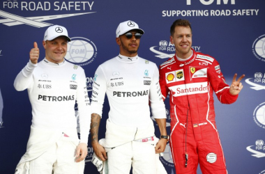 Hamilton takes pole with Vettel second and Bottas third | Picture Credit: Wolfgang Wilhelm - AMG Petronas Motorsport