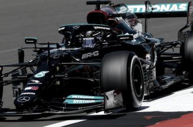 Hamilton se quedó con la victoria | Foto: Fórmula 1