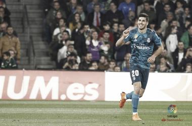 Marco Asensio, doppietta contro Il Betis. Fonte: LaLiga.es