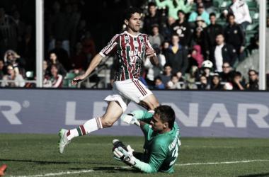 Autor do gol de empate contra Shakhtar, Magno Alves vê Fluminense com 60% do ideal