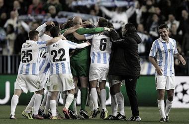 Del Málaga de Champions al Málaga de Segunda