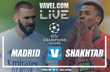Resumen del Real Madrid 2-3 Shakhtar en Champions League 2020/2021