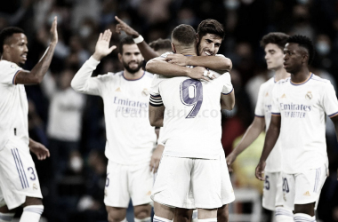 El Real Madrid celebra un gol frente al Mallorca en la jornada 6 de LaLiga Santander | Foto: Real Madrid C.F
