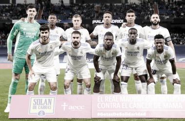 Alineación del Real Madrid frente a Osasuna. Fuente: Real Madrid