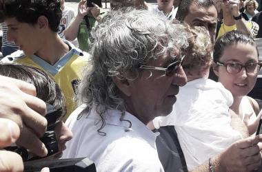 Mágico González a su llegada a Cádiz. Foto: Moisés Camacho