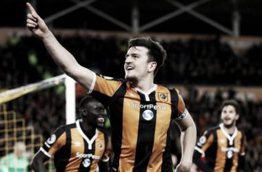 Maguire, una pieza clave en la defensa de Hull City. Foto: Premier League.