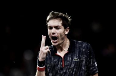 Mahut durante el pasado Masters 1000 de París-Bercy. Foto: zimbio.com
