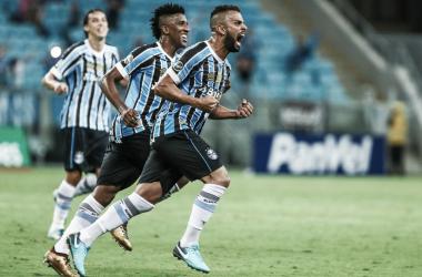 Com gol de Maicon, Grêmio vence São Paulo-RS e fica próximo do mata-mata no Gauchão