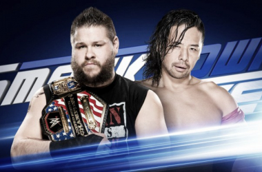 KO will face Nakamura. Photo-WWE.com
