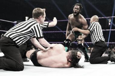 Did Swann get the upper hand? Photo- WWE.com