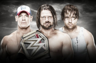 Who will walk away with the World Championship? Photo- WWE.com