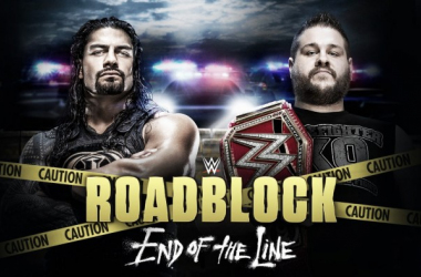 Roadblock takes place this Sunday. Photo- WWE.com