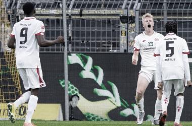 Sorprendente victoria del Mainz y punto de oro del Fortuna Düsseldorf