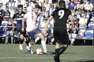Imagen del anterior partido contra el Leganés | Fotografía: Rayo Majadahonda