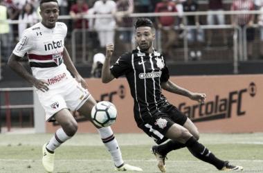 Em Majestoso bastante disputado, São Paulo e Corinthians ficam no empate
