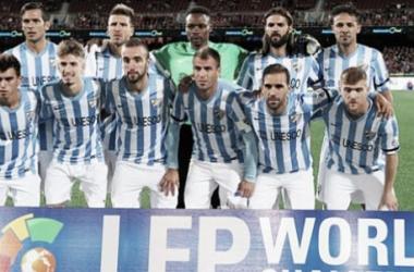 El Málaga vence y convence en la Schalke Cup