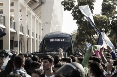 Málaga está lista para la batalla contra el líder