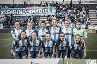 XI en el último partido jugado en la Federación. | Foto: Javi Muñoz (VAVEL)