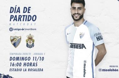 Previa Málaga CF - UD Las Palmas: borrón y cuenta nueva
