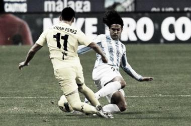 Resultado Málaga - Villarreal en la Liga BBVA 2015 (1-1)