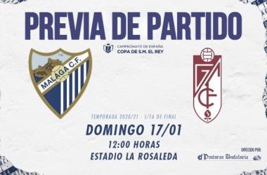 Día de partido. / Foto: Málaga CF