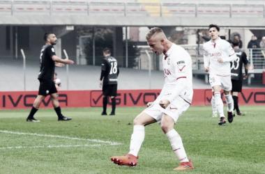 Serie B - Malcore cala il tris e trascina il Carpi: Ascoli battuto 4-2