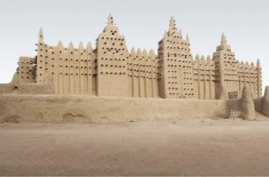 Mezquita Djenné, construida en pleno auge del Imperio malí | historiarum.es