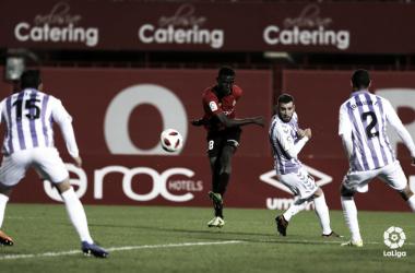 Partido de ida en Son Moix entre el Real Valladolid y el RCD Mallorca | LaLiga