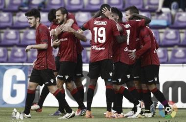 Jugadores del R.C.D Mallorca. Fuente: LaLiga