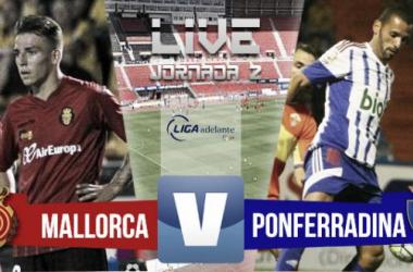 Resultado Mallorca - Ponferradina en Segunda División 2015 (1-0)