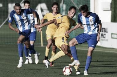 El Málaga continúa con su preparación: empate a 0 ante el Marbella