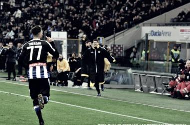 Udinese - Collavino, Danilo, Thereau... che atmosfera pesante