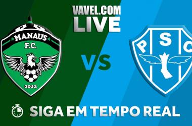 Resultado Manaus x Paysandu pela Copa Verde 2018 (1-2)