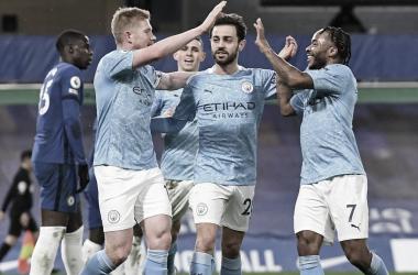 El Manchester City apalea una piñata londinense