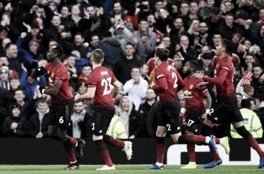 Gol de Pogba y Martial para el triunfo del United. / Foto: Manchester United.