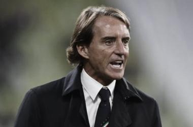 """Apesar de empate sem gols, Mancini aprova desempenho da Itália diante da Polônia: """"Felizes com o desempenho"""""""
