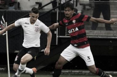 Leão foi eliminado da Copa do Brasil ao ser superado pelos alvinegros (Foto: Daniel Augusto Jr/Agência Corinthians)
