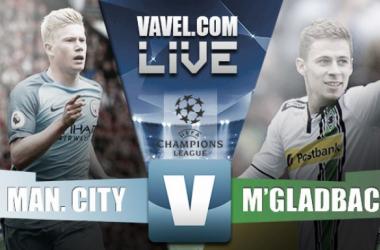 Partita Manchester City vs Borussia Mönchengladbach in Champions League 2016/17 (RINVIATA)