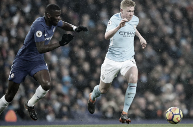 Manchester City vs Chelsea./ Foto: Premier League