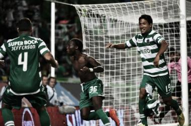 Mané marcou o golo da vitória sportinguista na primeira volta (Foto: Nuno Alexandre Jorge/Sigmapress/Gazeta Press)